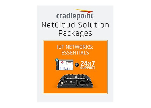Cradlepoint NetCloud Essentials for IoT Gateways (Standard) - subscription
