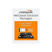 Cradlepoint NetCloud Essentials for IoT Routers (Standard) - subscription license (5 years) + Support - 1 license - with IBR650C router no WiFi (LPE modem) for Sprint