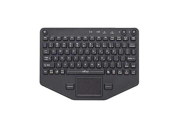iKey PRO-KB-116 - keyboard - with touchpad