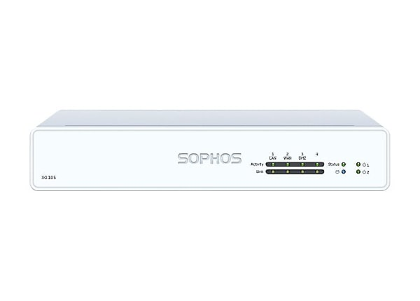 Sophos XG 105 - Rev 3 - security appliance - with 1 year EnterpriseProtect
