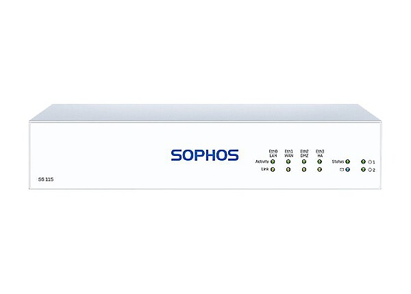 Sophos SG 115 REV3 Total Protect Plus 24/7 Support - 1 Year