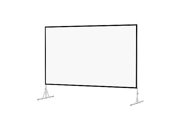 Da-Lite Fast-Fold Deluxe Screen System HDTV Format - projection screen with