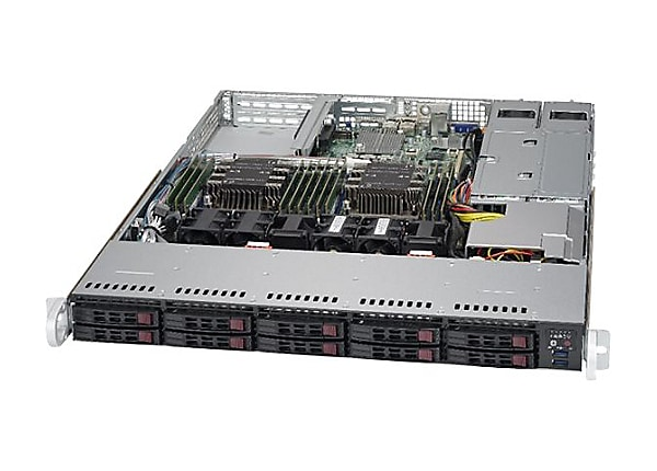 Supermicro SuperServer 1029P-WTRT - rack-mountable - no CPU - 0 GB - 0 GB