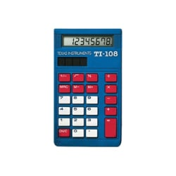 Texas Instruments TI-108 Teacher Kit - desktop calculator