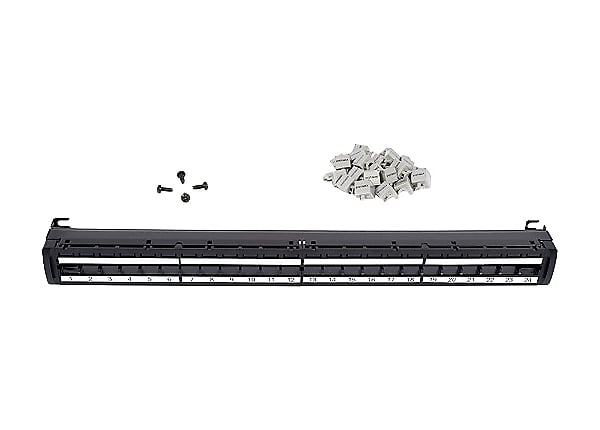 SYSTIMAX GigaSPEED X10D Xpress - patch panel - 1U - 19""