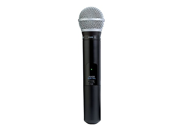Shure PGX Digital Wireless PG58 - wireless microphone - with PGXD2 Handheld