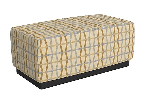 MooreCo Variable Height Short - bench ottoman