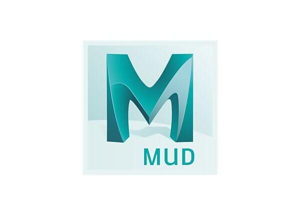 Autodesk Mudbox - Subscription Renewal (2 years) - 1 seat