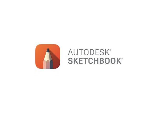 Autodesk SketchBook For Enterprise - Subscription Renewal (annual) - 1 seat