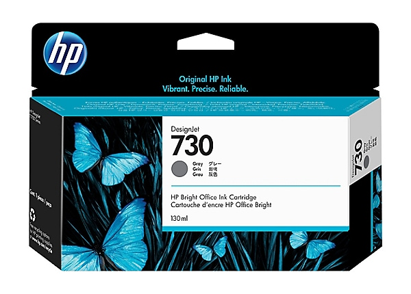 HP 730 - gray - original - DesignJet - ink cartridge