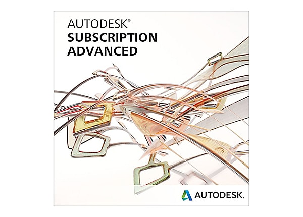 Autodesk Maintenance Plan with Advanced Support - technical support - 1 yea