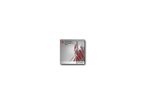 AutoCAD LT 2018 - New Subscription (annual) - 1 seat
