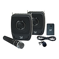SMK-Link GoSpeak! Duet Wireless Portable PA System with Wireless Microphone