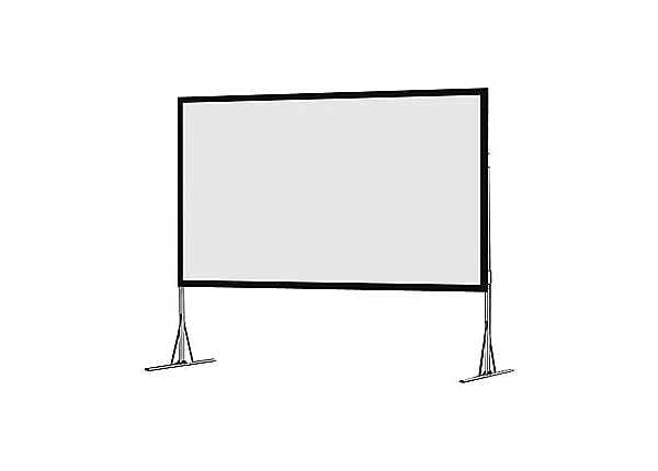 Da-Lite Fast-Fold NXT HDTV Format - projection screen with folding legs - 2