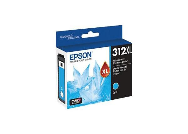 Epson 312XL with Sensor - High Capacity - cyan - original - ink cartridge