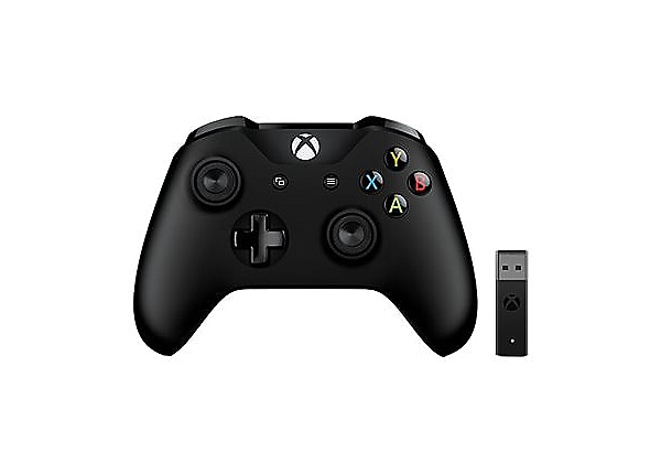 Microsoft Xbox Controller + Wireless Adapter for Windows 10 - Patrol Tech S