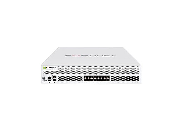 Fortinet FortiGate 3000D - security appliance - with 1 year FortiCare 8x5 E