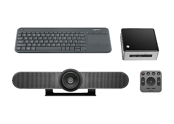 Logitech MeetUp Standard Kit with Intel NUC - video conferencing kit