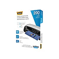 Fellowes - 200-pack - clear - Letter - lamination pouches