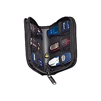 Case Logic 6 Capacity USB Drive Shuttle - storage drive carrying case