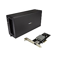 StarTech.com Thunderbolt 3 to 10GbE NIC Chassis + Card - 1 Port