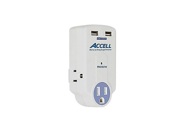 Accell Home or Away Power Station - surge protector - 1800 Watt
