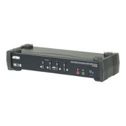 ATEN CS1924M KVMP Switch - KVM / audio / USB switch - 4 ports