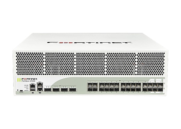Fortinet FortiGate 3700D - security appliance - with 5 years FortiCare 24x7