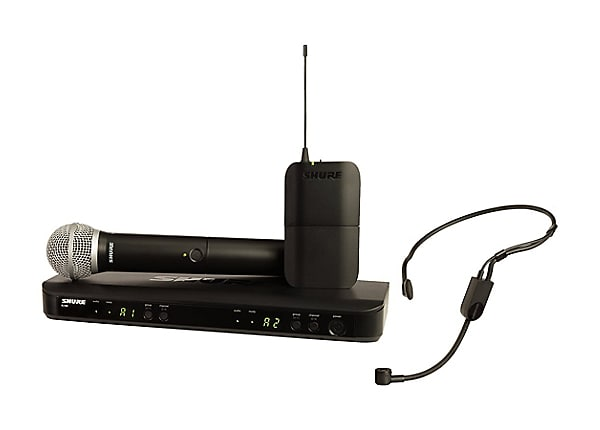 Shure BLX Wireless System BLX1288/P31 Dual Channel Combo Wireless System -