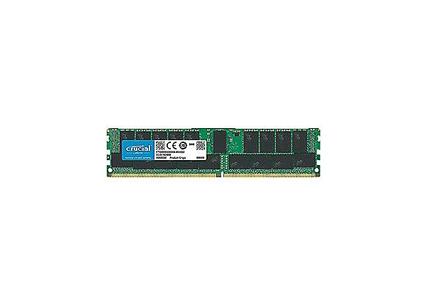 Crucial - DDR4 - 32 GB - DIMM 288-pin - registered