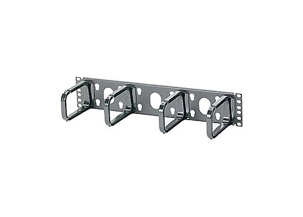Panduit Open-Access Horizontal Cable Manager - cable management panel - 19""