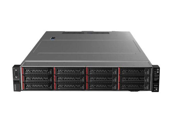 Lenovo ThinkSystem SR550 - rack-mountable - Xeon Bronze 3104 1.7 GHz - 16 G