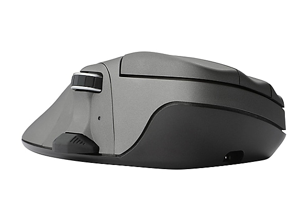 Contour Mouse Wireless Medium - mouse - 2.4 GHz - metal gray