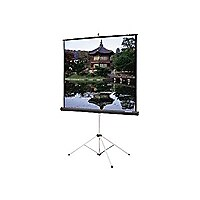 Da-Lite Picture King projection screen with tripod - 72 in (72 in)