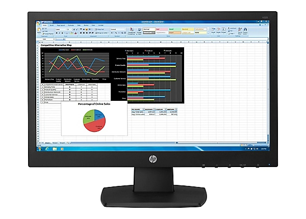 HP N223 - LED monitor - Full HD (1080p) - 21.5""