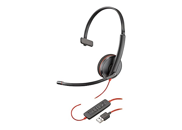 Poly Blackwire C3210 USB - micro-casque