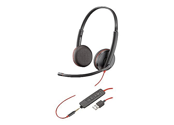 Poly Blackwire C3225 USB - headset