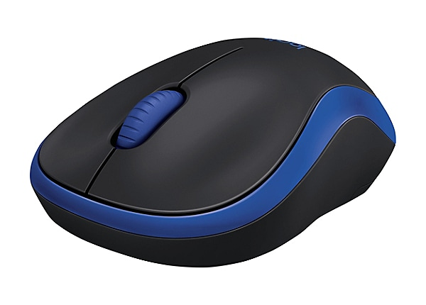 Logitech M185 - mouse - 2.4 GHz - blue