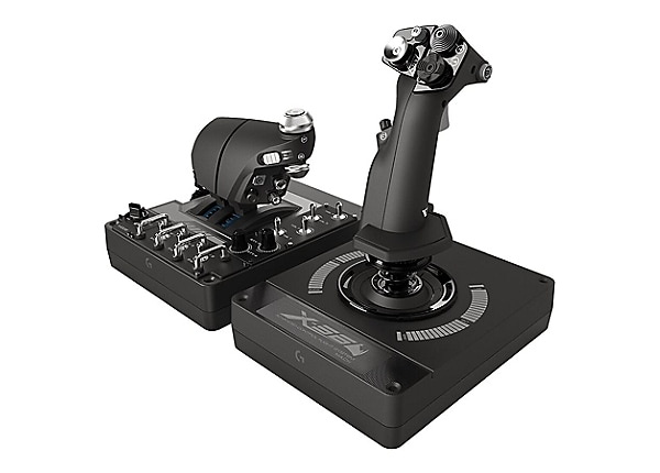 Logitech X56 H.O.T.A.S. - joystick and throttle - wired