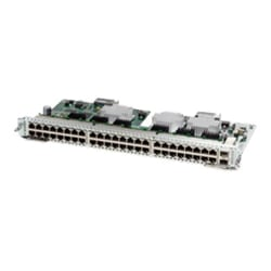 Cisco SM-X Layer 2/3 EtherSwitch Service Module - switch - 48 ports - manag
