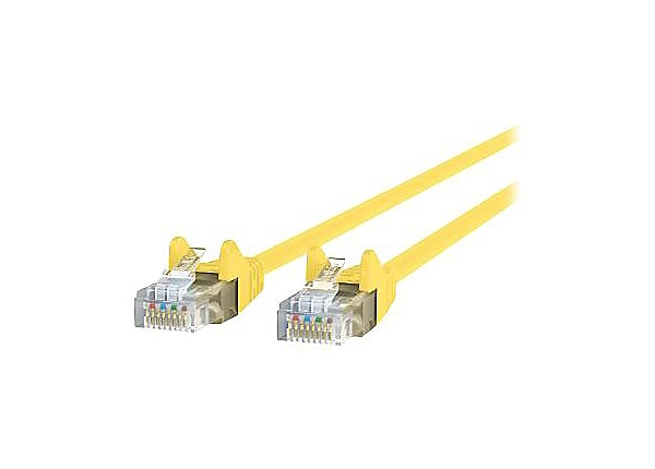 Belkin CAT6, 14ft, Yellow, Snagless, UTP, RJ45 Patch Cable