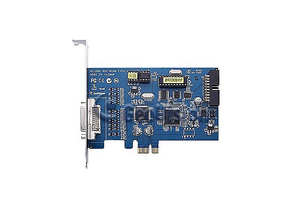 GeoVision GV-650 DVI Type B - DVR card - PCI Express x1 - 8 channels
