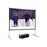 "Da-Lite FastFold Deluxe Screen System 85""x115"" Projector Screen (Da-Tex)"