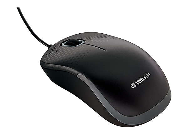 Verbatim Silent Corded Optical - mouse - USB - black