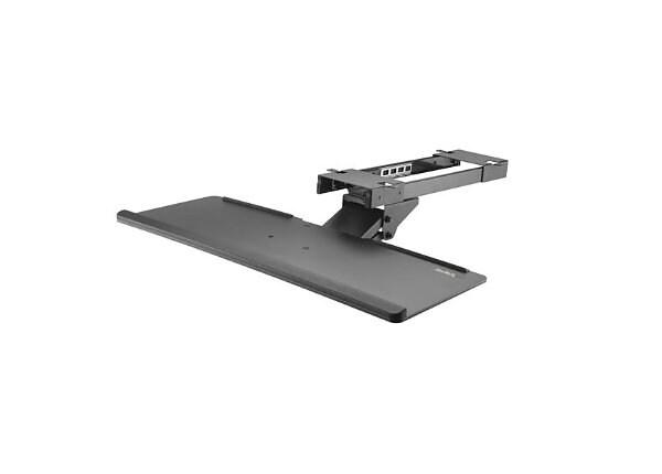 StarTech.com Under Desk Keyboard Tray - Adjustable - Keyboard Drawer