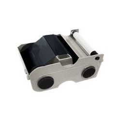 Fargo - 1 - standard black - print ribbon cassette with cleaning roller