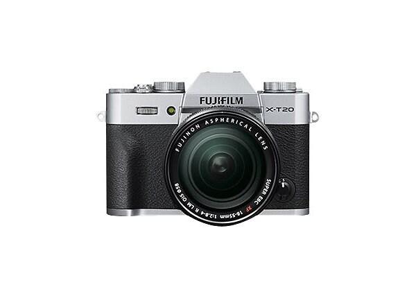 Fujifilm X Series X-T20 - digital camera 18-55mm R LM OIS lens