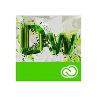 Adobe Dreamweaver CC for Enterprise - Enterprise Licensing Subscription New