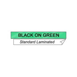 "Brother 1"" Labels - Black on Green"