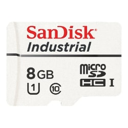 SanDisk Industrial - flash memory card - 8 GB - microSDHC UHS-I